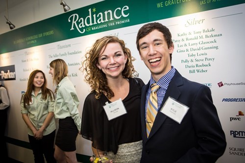 Alumni at Radiance Reception