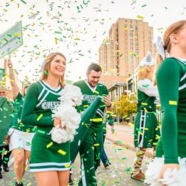Top 10 reasons to come back to campus for Homecoming Thumbnail