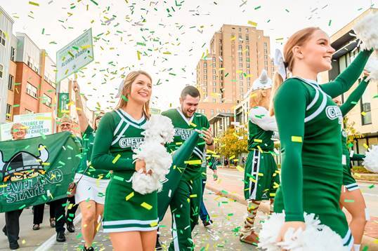 Top 10 reasons to come back to campus for Homecoming Image