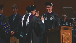 Forward Together: Investiture of President Harlan M. Sands Highlights Bright Future of CSU Thumbnail