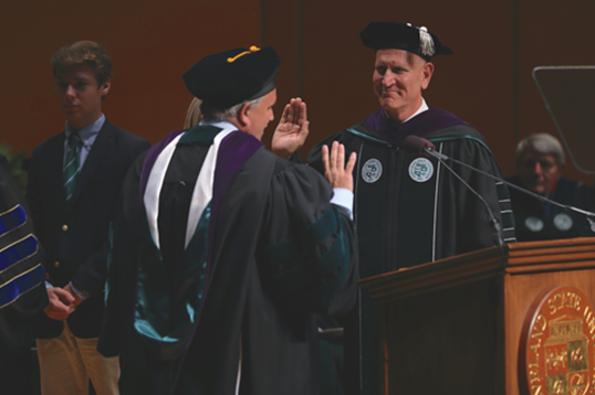 Forward Together: Investiture of President Harlan M. Sands Highlights Bright Future of CSU Image