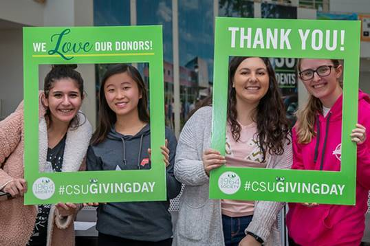 CSU Giving Day sets new record Image