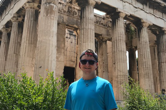 Senior's travels to Greece spark self discovery